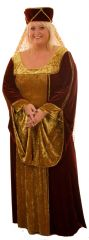 Lady Jane Medieval Costume Plus Size